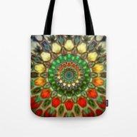 Sun Mandala 2 Tote Bag