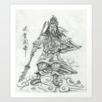 Gwan Gong Art Print