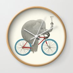 Ride (colour option) Wall Clock