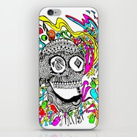 The Candy Skull iPhone & iPod Skin
