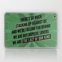 We are but hopeful lovers Laptop & iPad Skin
