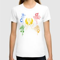 sailor moon T-shirts featuring Sailor Scouts / Sailor Moon by Sara Eshak