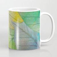Pattern Of Colorful Leav… Mug
