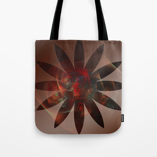 Flowers in the Flower Tote Bag