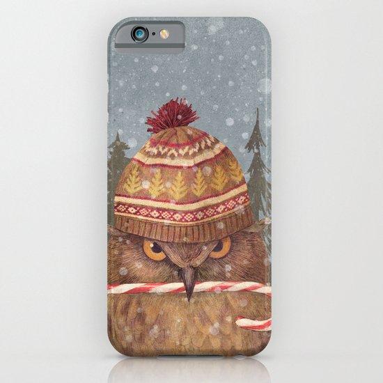 Christmas Owl  iPhone & iPod Case