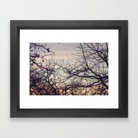 Fight for Light Framed Art Print