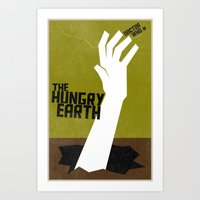 The Hungry Earth (8 In A… Art Print