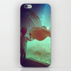 Boy at the Portuguese Oceanarium   iPhone & iPod Skin