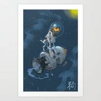 Astro Zodiac Force 11:  … Art Print