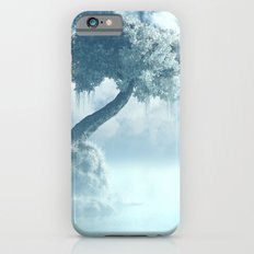 Frozen Tree at the lake iPhone 6 Slim Case