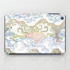 ' Templez, Cloudz, Sunz, Creaturez  '  By: Matthew Crispell   iPad Case