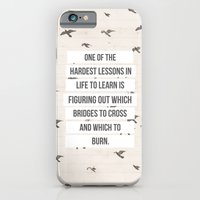iPhone & iPod Case featuring life lessons by Jordan Alanda