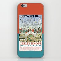 Leslie Knope for City Council - Parks and Recreation Dept. iPhone & iPod Skin