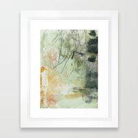 Lines & Texture 1 Framed Art Print