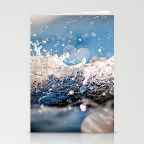 Water Splash Stationery Card