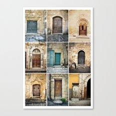 Nine Doors Canvas Print