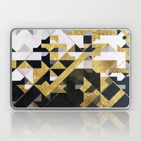 gold lyyfd Laptop & iPad Skin