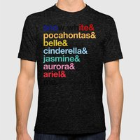 My Mom Says I'm A Princess. Mens Fitted Tee Tri-Black SMALL