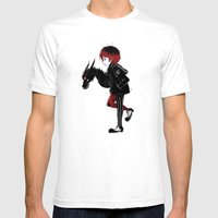 Dragon Girl Mens Fitted Tee White SMALL