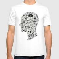 It's All In My Head Mens Fitted Tee White MEDIUM