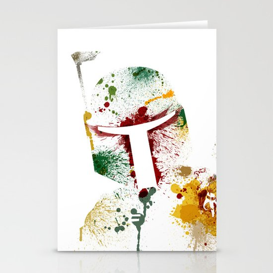 Bounty hunter Stationery Card