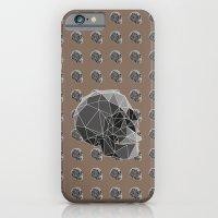 Geometric skulls iPhone 6 Slim Case