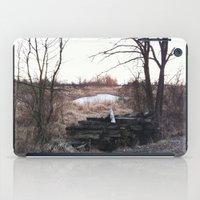 Old train track boards  iPad Case