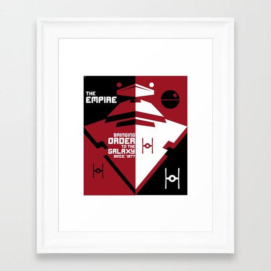 Order in the Galaxy Framed Art Print