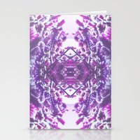 Winter In Purple Stationery Cards