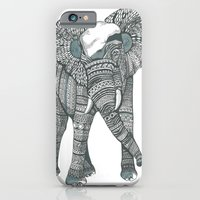 iPhone & iPod Case featuring Humble elephant by Rufio Creative