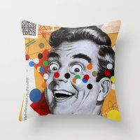 Mail Me Art Throw Pillow