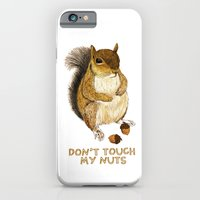 iPhone & iPod Case featuring Irreverent Squirrel by Reg Silva / Wedgienet.net
