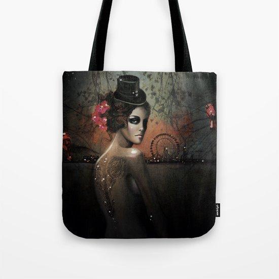Dawn in Autumn Tote Bag