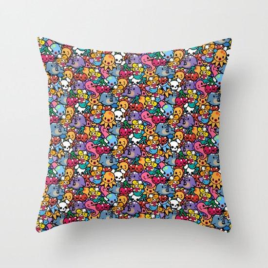Sea pattern 02 Throw Pillow