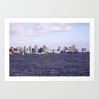 Good Morning San Diego  Art Print