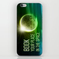 Book your place in the space iPhone & iPod Skin