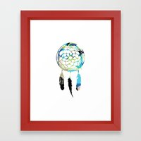 Catching Dreams Framed Art Print