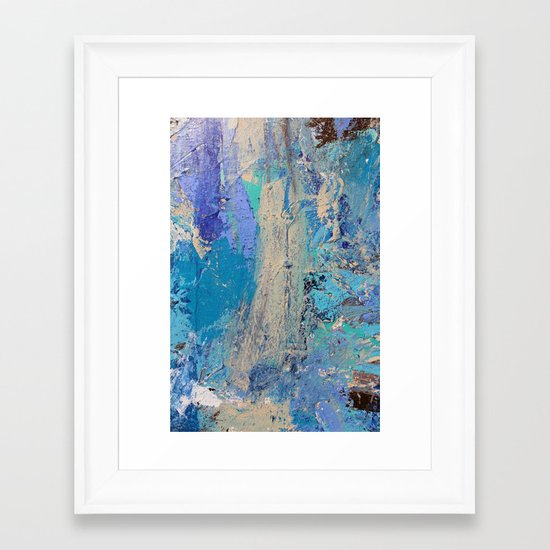 Tides Change Framed Art Print
