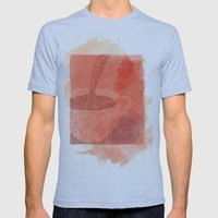 WakeUp! Mens Fitted Tee Athletic Blue SMALL