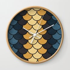 Autumn Color Wall Clock