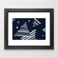 Pattern Doodle Two (Inve… Framed Art Print