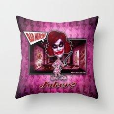The Joker concept! Throw Pillow
