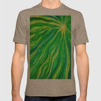 Spirit Mens Fitted Tee Tri-Coffee SMALL