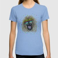 Lion II Womens Fitted Tee Athletic Blue SMALL