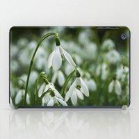 Snowdrops iPad Case
