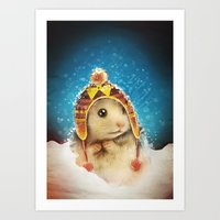 keep me warm Art Print