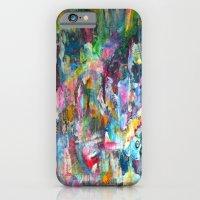 REM white noise iPhone 6 Slim Case