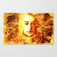 Bride of Fire v2 t shirt Canvas Print