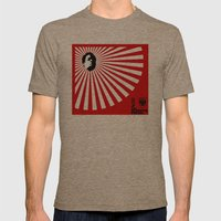 Unfinished Lights (The Face Collection) Mens Fitted Tee Tri-Coffee SMALL