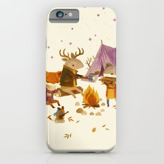 Critters: Fall Camping iPhone 6s Slim Case